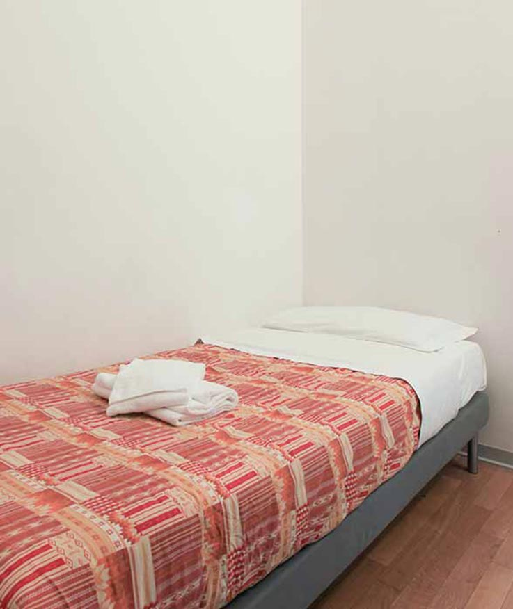 Double room (Single beds - in villa)